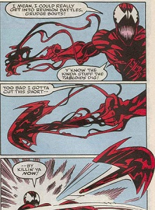 Carnage_creating_a_weapon_using_the_symbiote