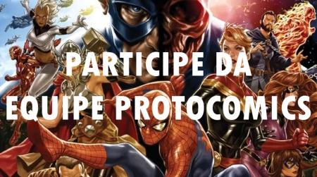 participe da equipe protocomics